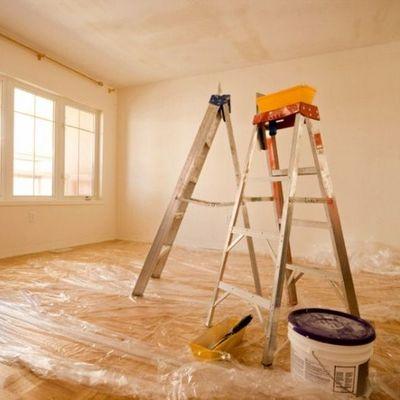 Pintura de uma casa T3
