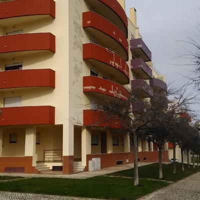 Pintura exterior de prédio