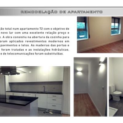 Remodelação - Apartamento Braga