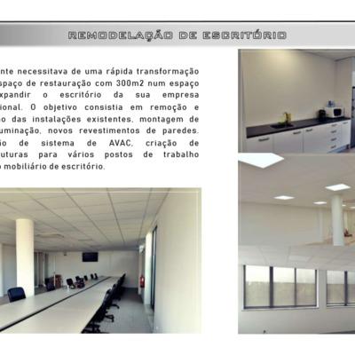 Remodelação - Escritório Braga