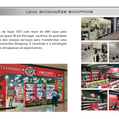 Cex - Remodelação nova loja, Guimarães Shopping