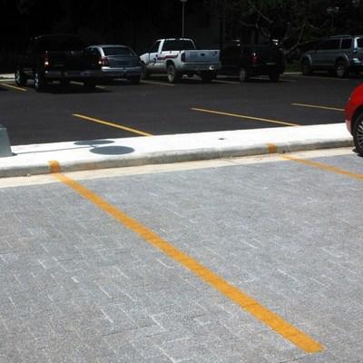 Pavimento em Bricks estacionamento