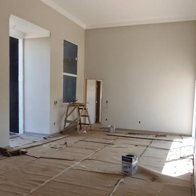 Pintura de teto e parede