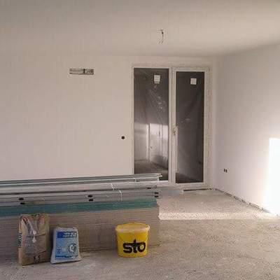 Pladur no teto e pintura nas paredes