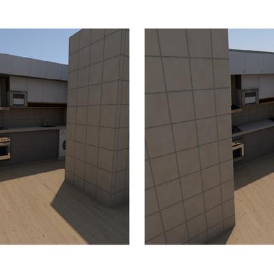 Vista 3D de Opção Final