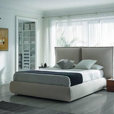 Decoração de quarto moderno e fabrico de móveis de quarto por medida