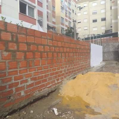 construçao de muros