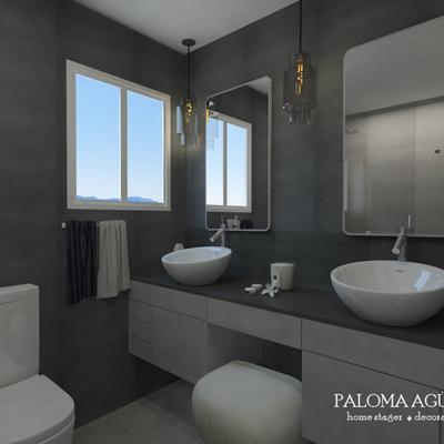 Projecto 3D casa banho