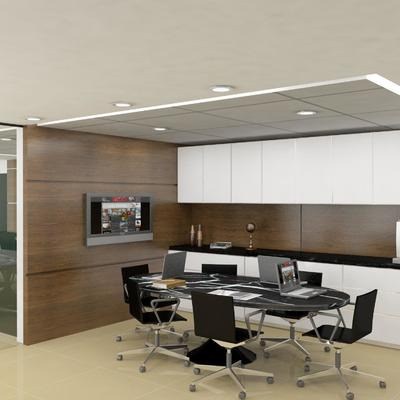Projeto escritorio sala de reuniao