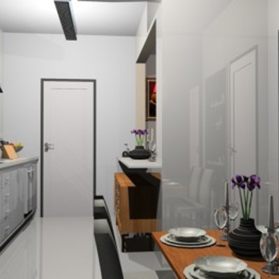 Cozinha - Sala de Jantar - Entrada