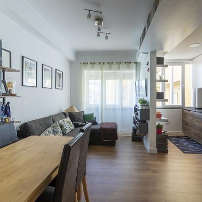 Sala e cozinha remodelação