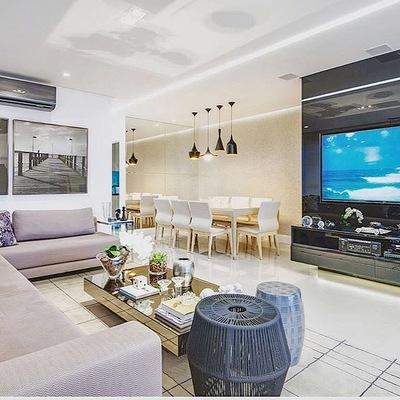 Apartamento ideal para um cinema em casa