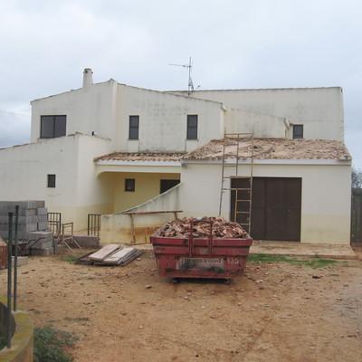 Moradia Sargaçal - Antes