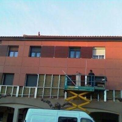 fachada ventilada 3 em PALENCIA / ESPANHA