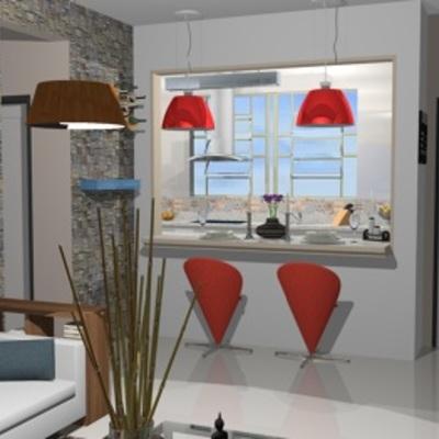 Integração Sala - Cozinha