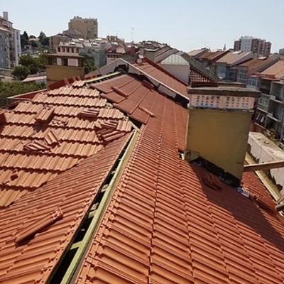 Substituíção de telhado em Cerâmica