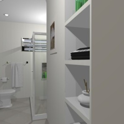 Suíte Casal - Banheiro - Entrada