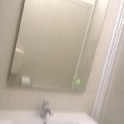 montagem espelho / lavatorio