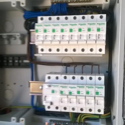 quadro electrico mondado e ligado
