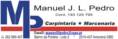 Carpintaria/Marcenaria Manuel J L Pedro