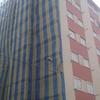Reparação e pintura de prédio de 3 andares 2 fachadas
