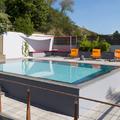 piscina e area de lazer