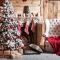 lareira de Natal