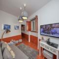 Sala de entrada do Hostel LX-FACTORY