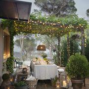 1. Sala de jantar ao ar livre