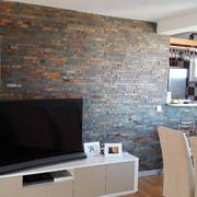 Alargamento e remodelação da sala.