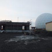 Cobertura em madeira para radar - Açores