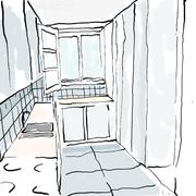 Esquiço cozinha