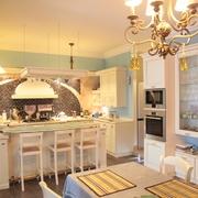 Kitchen. Dining room.