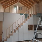 Remodelação e aumento de casas de férias junto ao Mar.