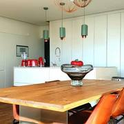 Sala em Open Space com Kitchenette com Ilha