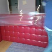 Sofá diván embalado