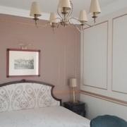Um dos 30 quartos restaurados em hotel de 5 estrelas