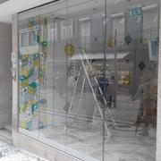 Vidros de fachada comercial