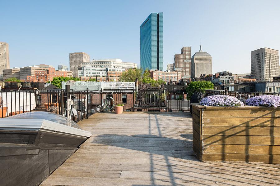 4. Um terraço no último piso com vistas deslumbrantes, que merecem ser aproveitadas