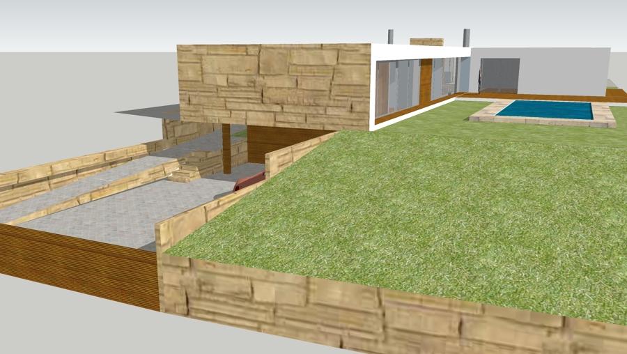 Animação 3d - vista Lateral