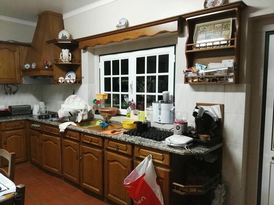 Cozinha usada