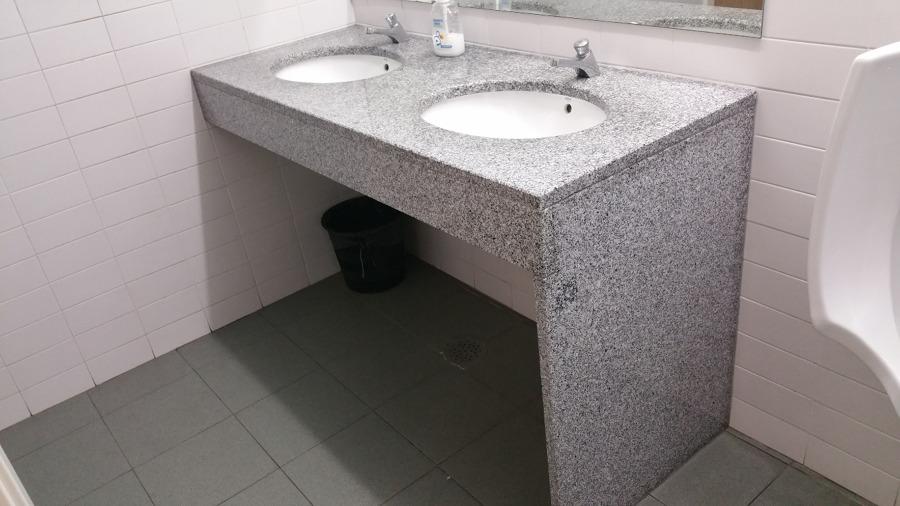 Foto Bancadas de Wc  Cozinha em Pedra de Construção Civil #5773  Habitissimo # Bancada De Cozinha Em Pedra Sabao