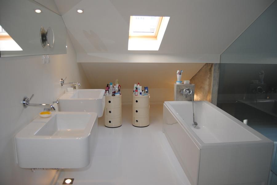 Casa de banho Master Suite: Zona de banho