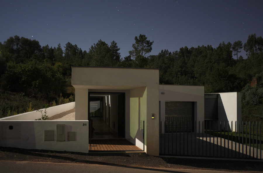 Casa em Almalaguês, Coimbra - vista nocturna