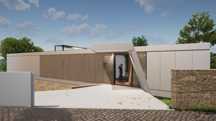 Casa RA - Entrada (3D)