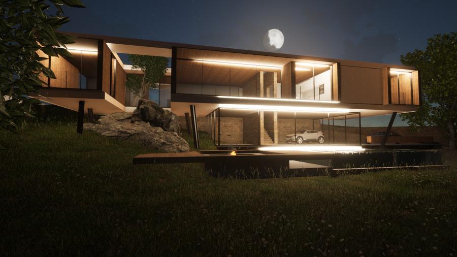 Casa RA - noturna