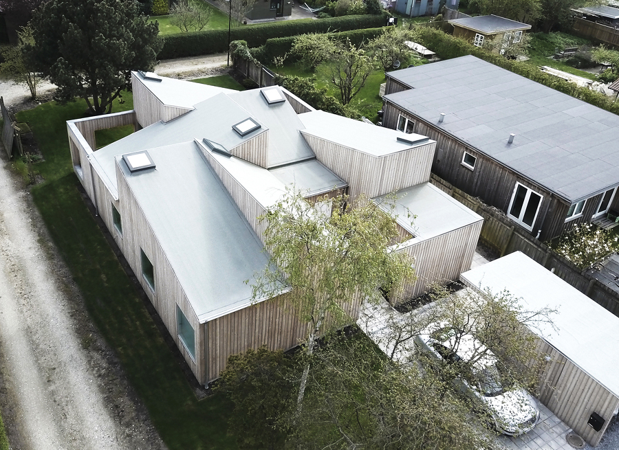 Casa techo