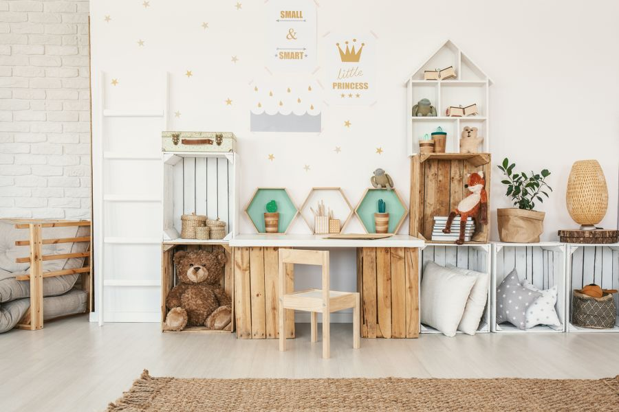 Como organizar o quarto das crianças