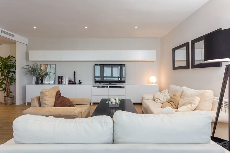 Cozinha, sala de estar e jantar, num só