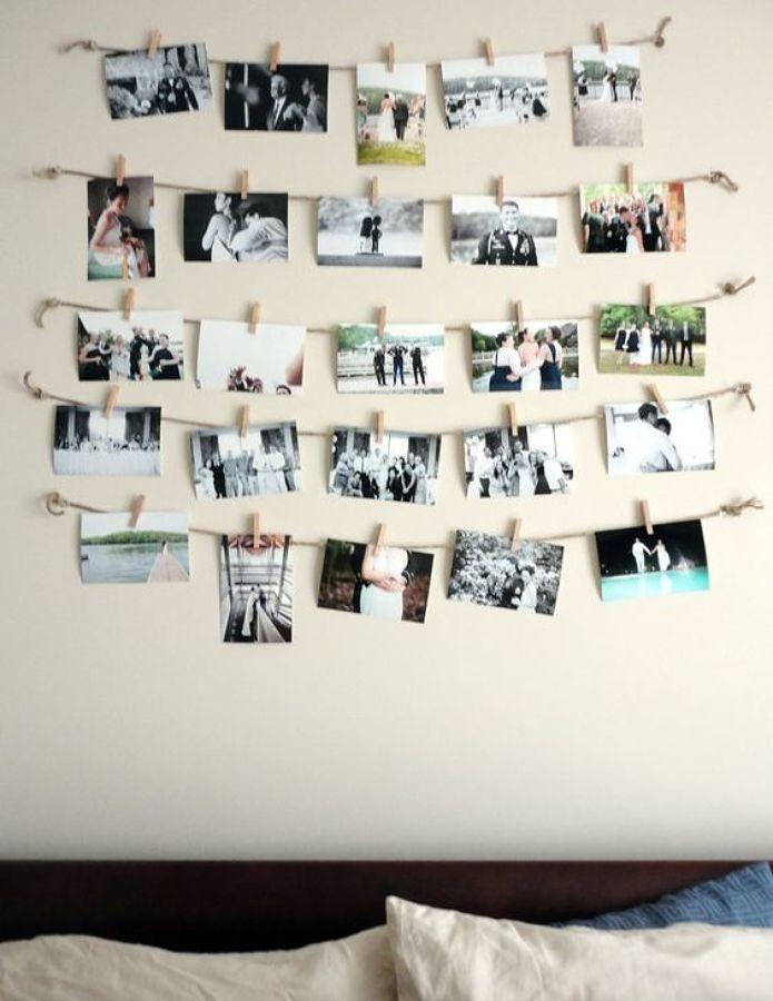 Criar um bonito mural de recordações
